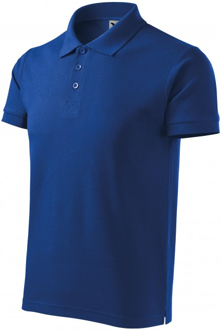Men's heavier polo shirt Royal blue