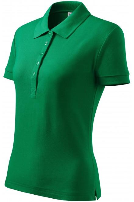 Ladies polo shirt Kelly green