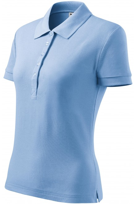Ladies polo shirt Sky blue