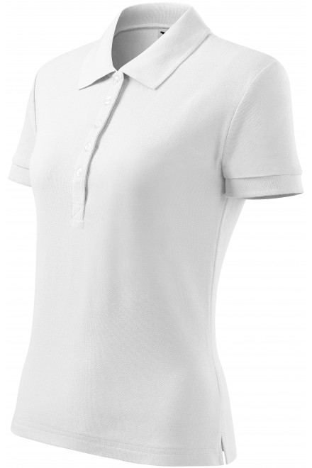 Ladies polo shirt White