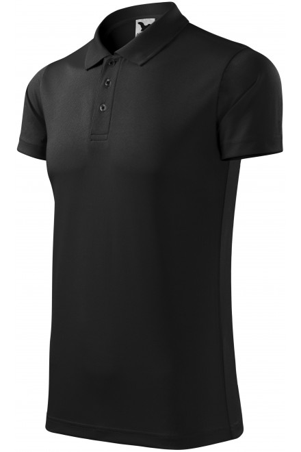 Sport polo shirt Black