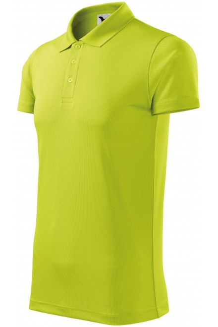 Sport polo shirt Lime green