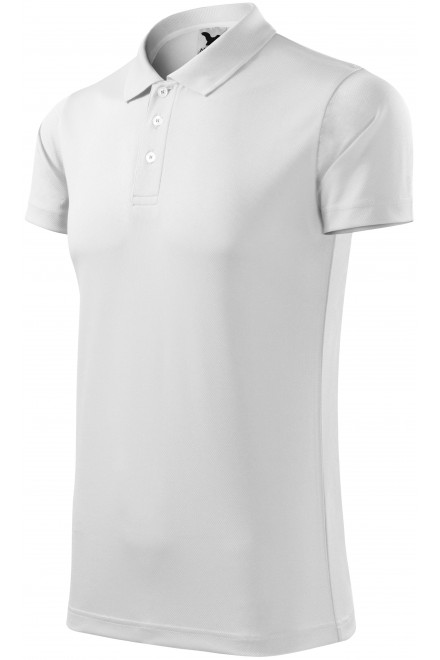 Sport polo shirt White