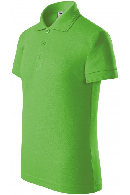 Polo shirt for children Apple green