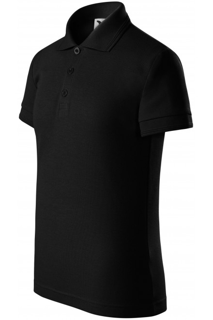 Polo shirt for children Black