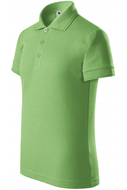 Polo shirt for children Grass green