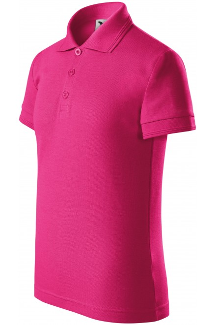 Polo shirt for children Magenta