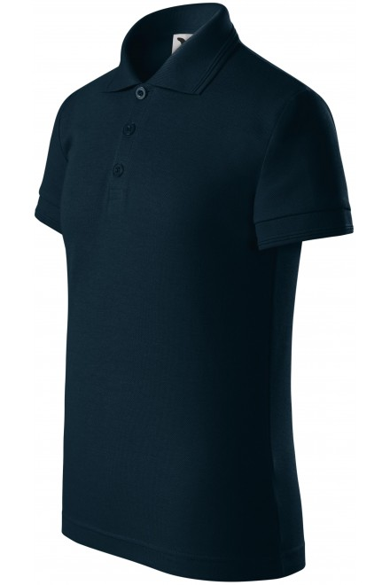 Polo shirt for children Navy blue