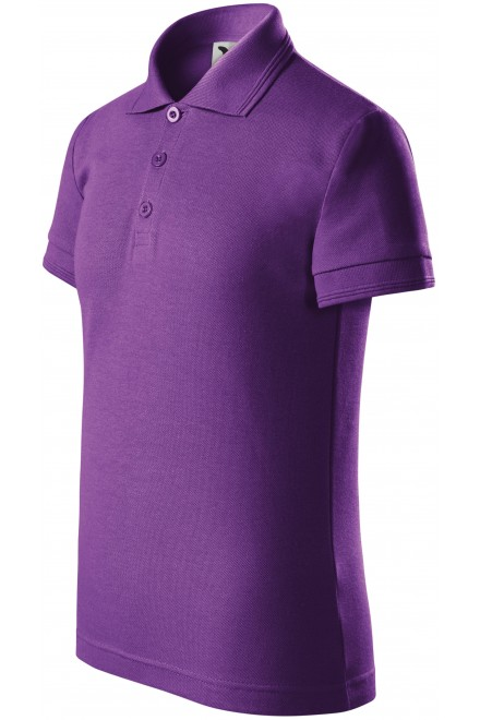 Polo shirt for children Purple