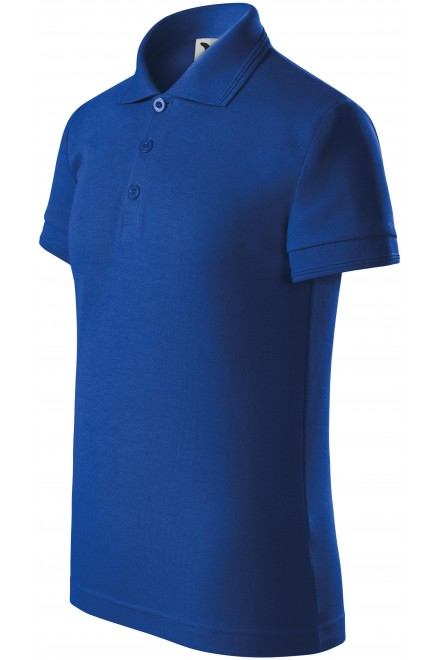 Polo shirt for children Royal blue
