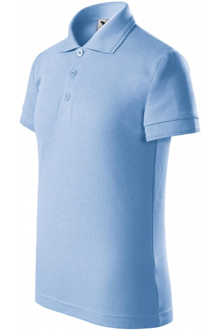 Polo shirt for children Sky blue