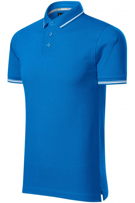 Men's contrasting polo shirt