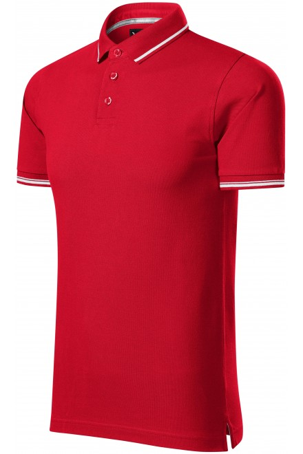 Men's contrasting polo shirt White