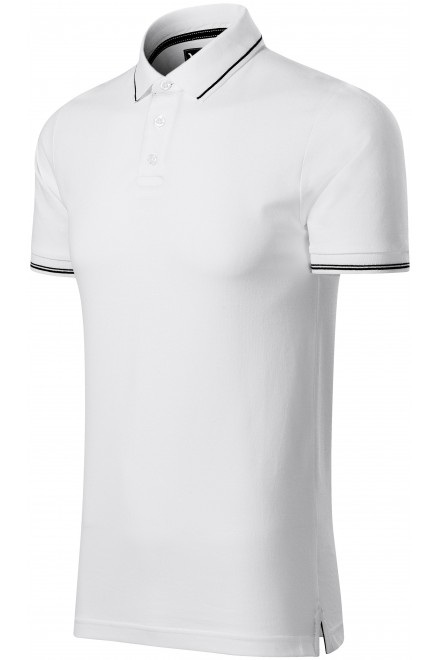 Men's contrasting polo shirt White