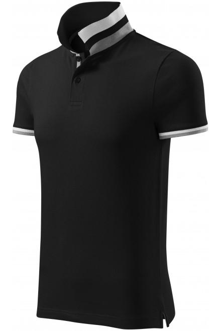 Men's polo shirt with collar top White