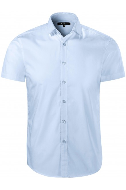Men's cotton shirts without graphics