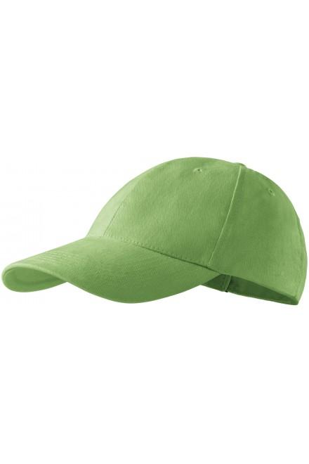 6-panel cap Grass green