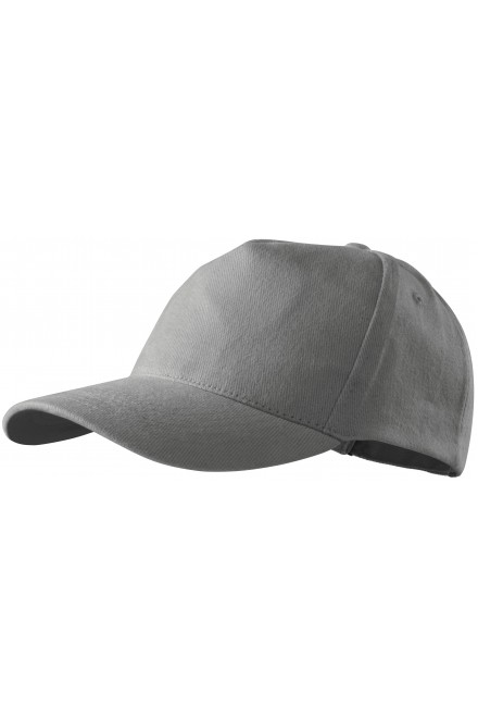 5-panel cap White