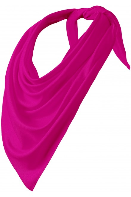 Fashionable scarf Neon pink