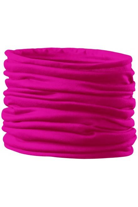 Universal scarf Neon pink