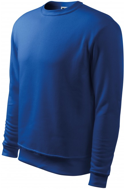 Men's/childrens sweatshirt with head sleeves, without hood Royal blue