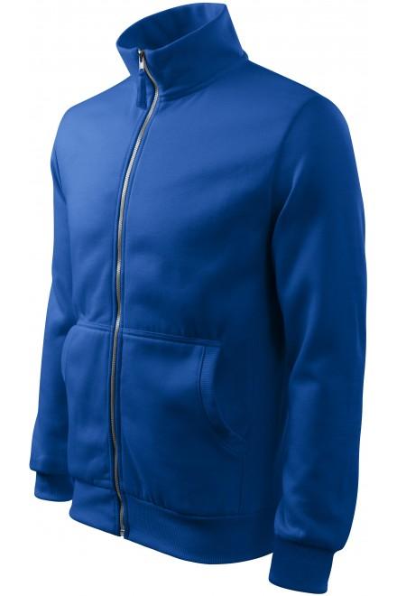Men's sweatshirt without hood Royal blue