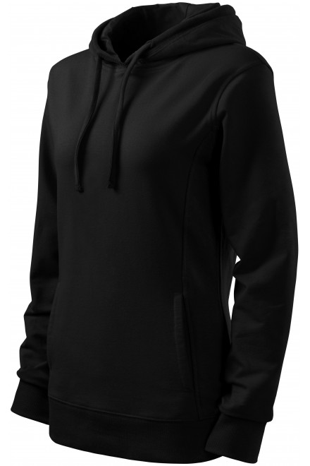 Ladies stylish sweatshirt with hood