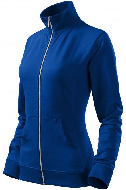 Ladies sweatshirt without hood Royal blue