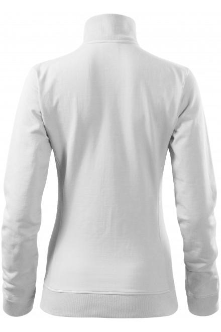 White ladies sweatshirt without hood