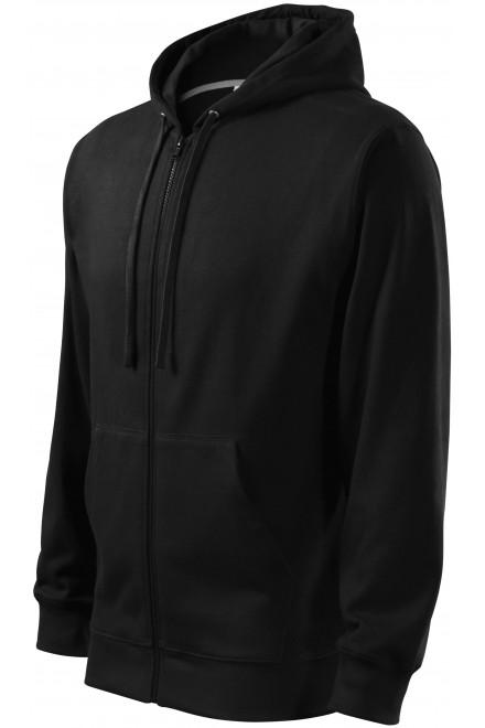 Men's sweatshirt with a hood Black