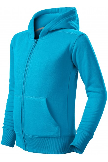 Children's sweatshirt with hood Bblue atol