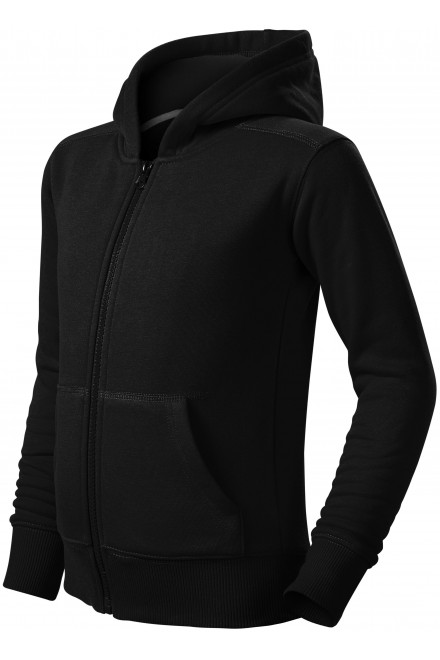 Children's sweatshirt with hood Black