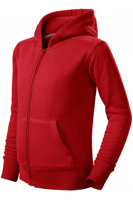 Children's sweatshirt with hood Red