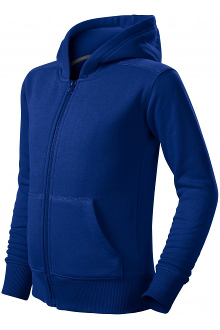 Children's sweatshirt with hood Royal blue
