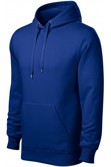 Men's sweatshirt with hood without zip White
