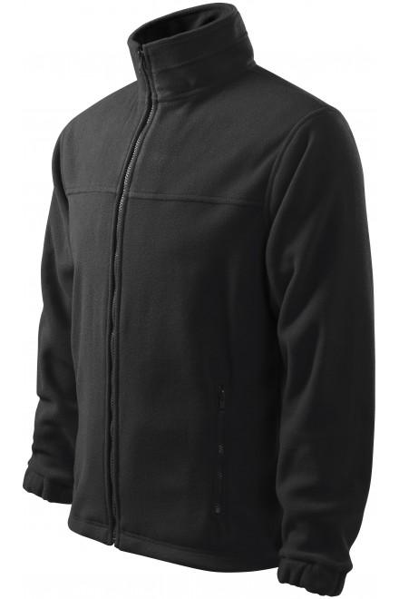 Men's fleece jacket Ebony gray