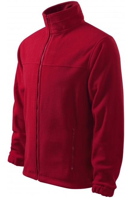 Men's fleece jacket Marlboro red