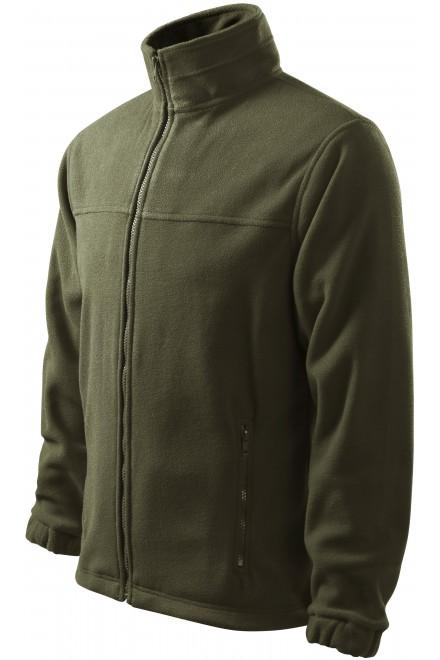 Men's fleece jacket Military