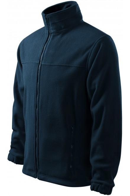 Men's fleece jacket Navy blue