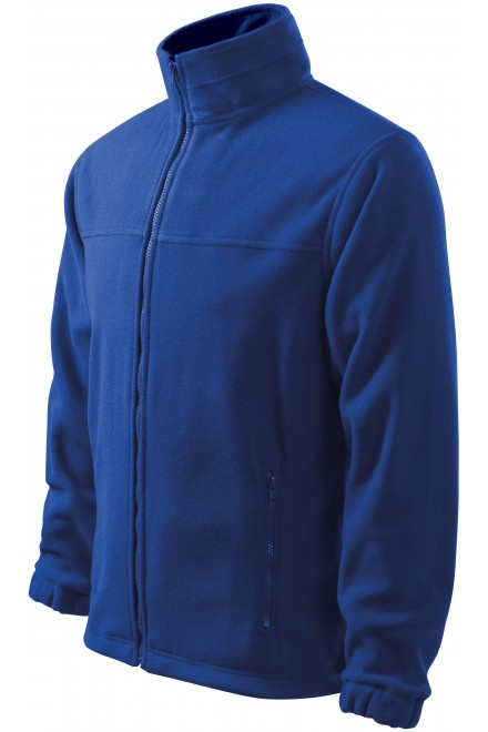 Men's fleece jacket Royal blue