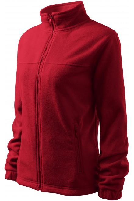 Ladies fleece jacket Marlboro red