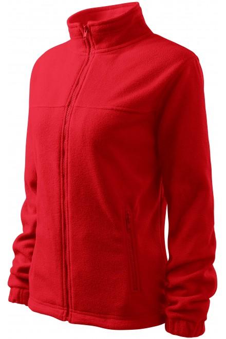 Ladies fleece jacket Red