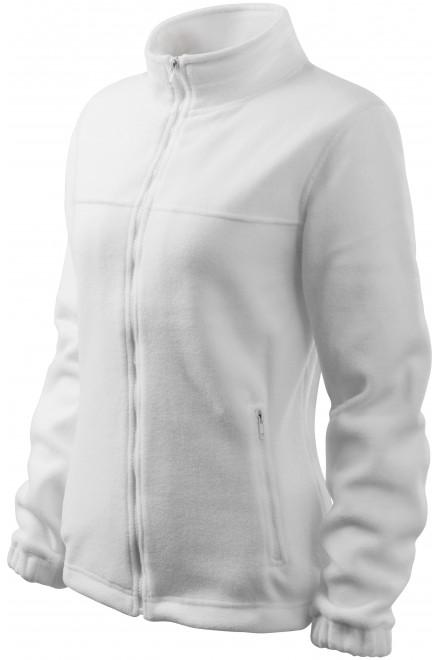 Ladies fleece jacket White