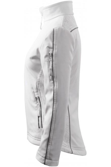 White breathable ladies jacket