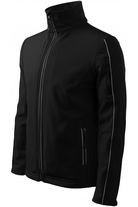 Breathable men's jacket Black