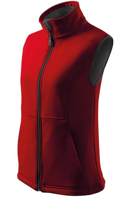 Ladies close fitting vest Black