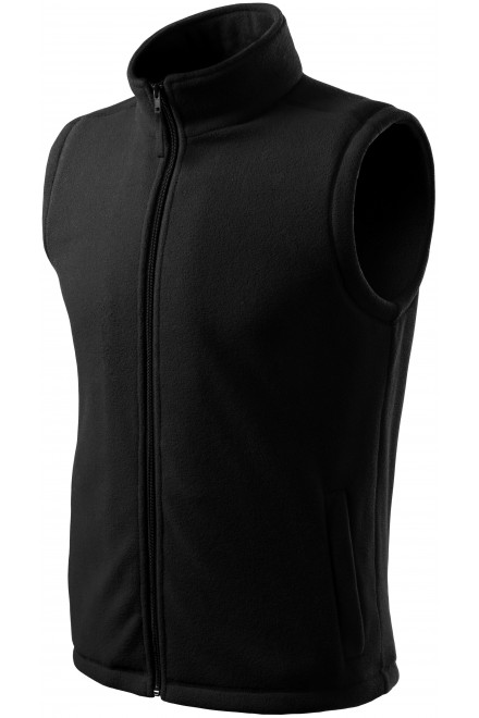 Classic fleece vest Black