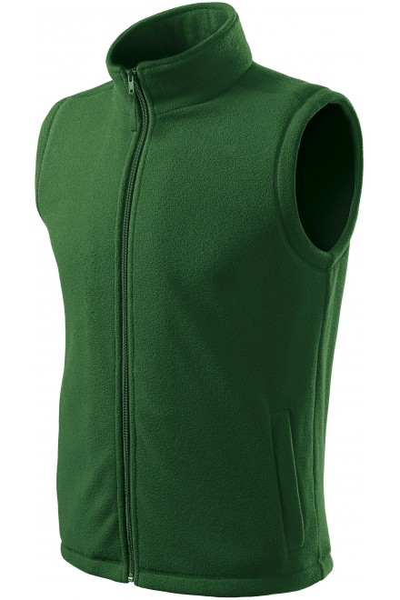 Classic fleece vest Bottle green