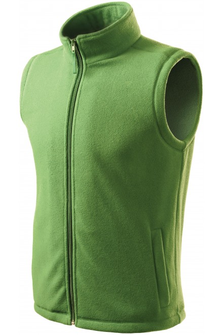 Classic fleece vest Grass green