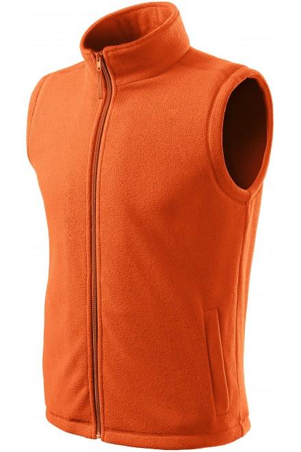 Classic fleece vest Orange